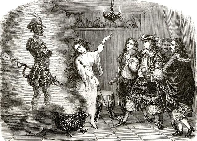 Travička La Voisinová se prý skutečně paktovala sďáblem.