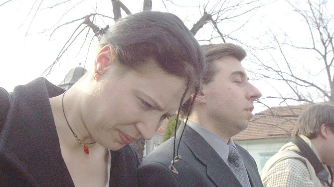 Helena Čermáková v den rozsudku