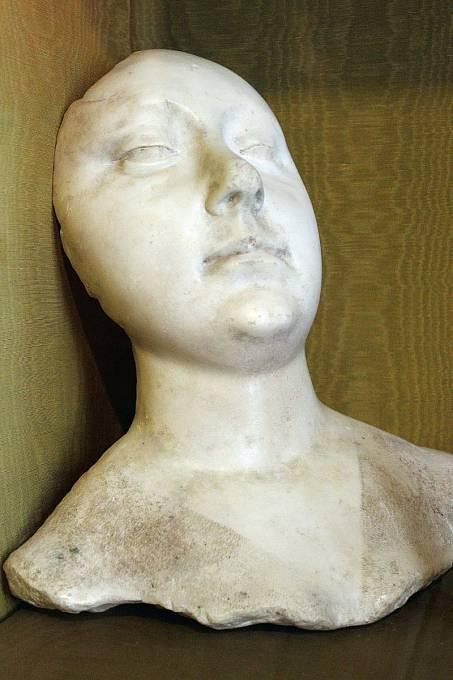 posmrtná maska Agnes Sorel