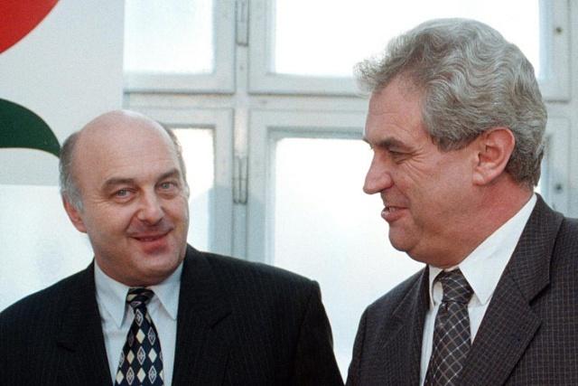 Miloš Zeman a Ivo Svoboda