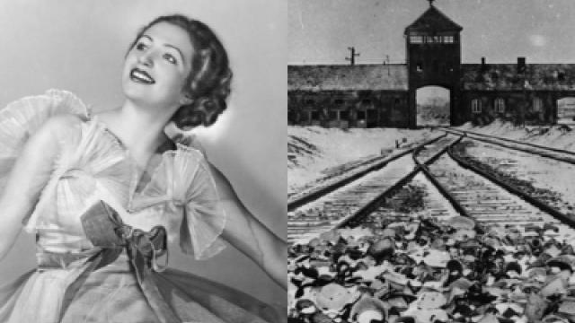 Místo slibované cesty do Ameriky, skončila krásná baletka v koncentračním táboře Osvětim.