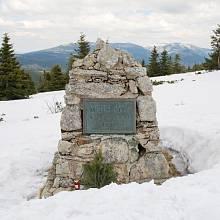 Pomník Hanče a Vrbaty v Krkonoších
