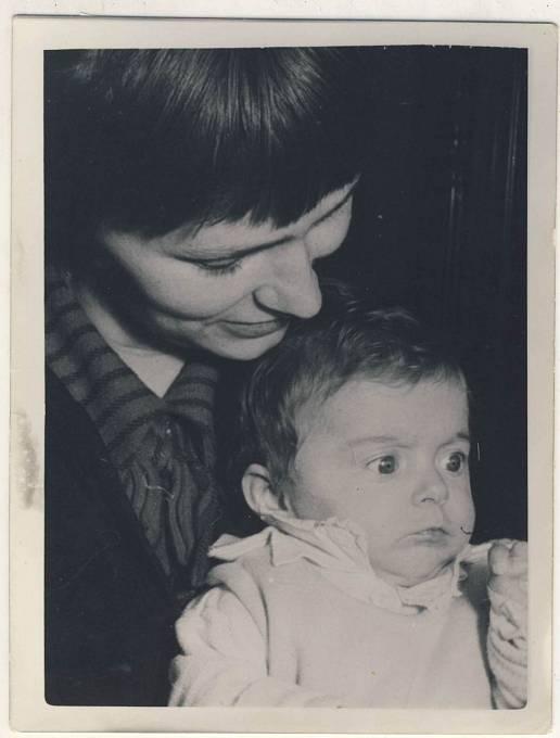 Dana Němcová cca 1959