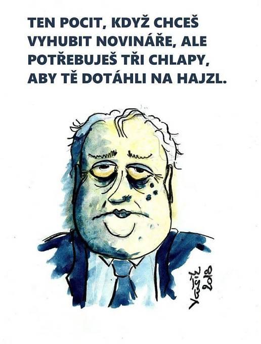 Miloš Zeman na téma novináři a blboun nejapný