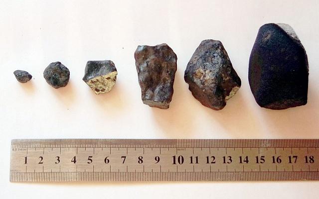 části čeljabinského meteoritu