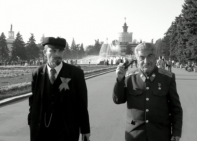 Lenin a Stalin spolu měli spoustu nesrovnalostí ohledně vlády
