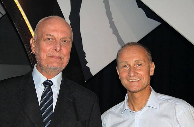 Vladimír Čech a Josef Carda v roce 2013