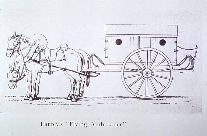 """Larreyho polní """"létající ambulance"""""""