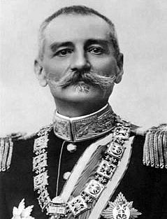 Král Petr I. Karadjordjevič vládl vletech 1903–1918 Srbsku a vletech 1918–1921 Království Srbů, Chorvatů a Slovinců.