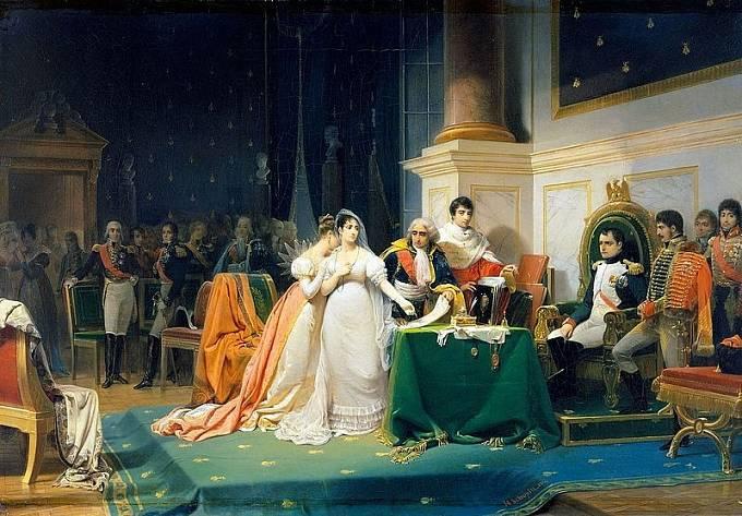 Rozvod Napoleona s Josefínou byl jen formální, císař svou ženu nikdy nepřestal milovat.