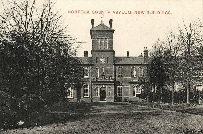 Ústav pro choromyslné v Norfolku