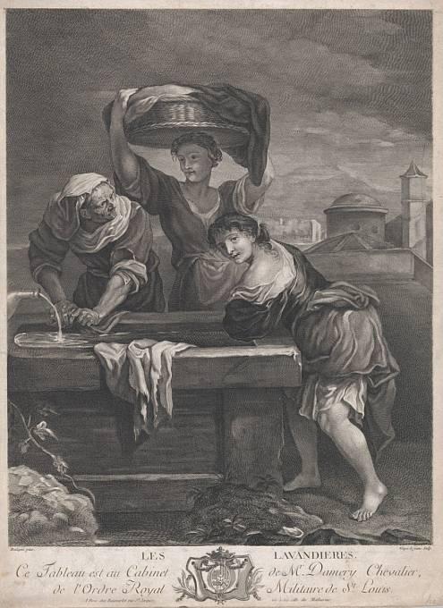 Římské pradleny praly prádlo s pomocí moči