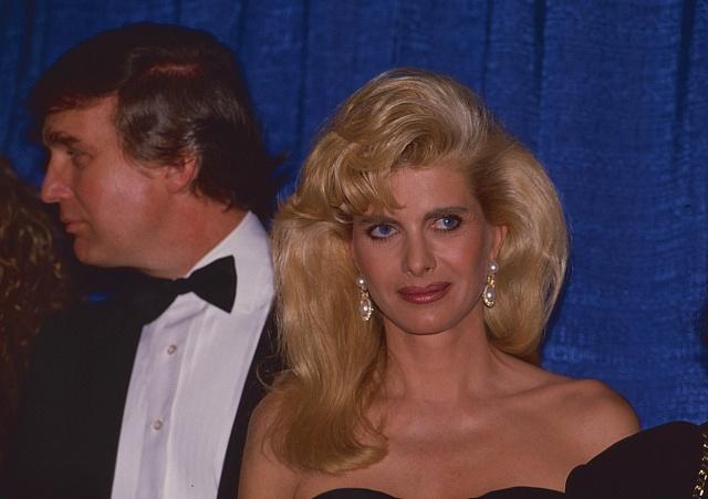 Donald a Ivana Trumpovi na konci 80. let minulého století