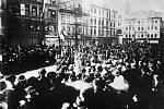 Demonstrace na Václavském náměstí 28. října 1918