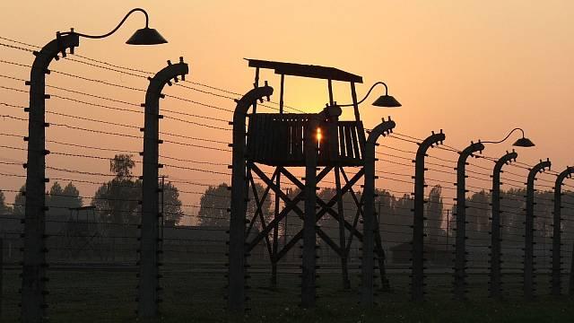 Plot kolem koncentračního tábora Osvětim - Birkenau