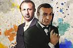 Popovův charakter byl shodný s povahou Jamese Bonda.