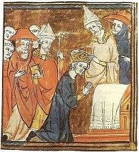 Ibarbarizace vyspělé civilizace má pozitivní řešení: korunovace Karla Velikého papežem Lvem III. znamenala završení éry zmatků a záchranu kontinuity starověku a středověku.