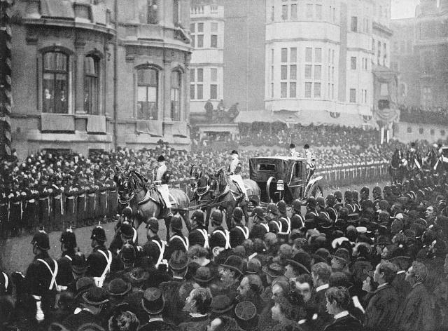 Pohřební průvod královny Viktorie