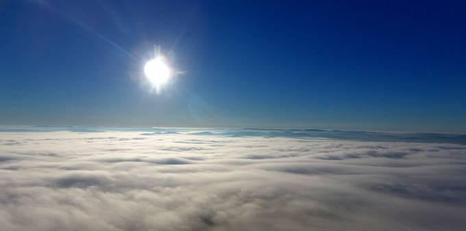 Podívat se lze i nad mraky