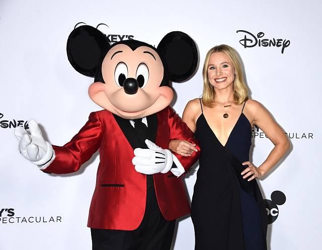 Herečce Kristen Bellové Disney nevadí myšák Mickey, ale má problém se Sněhurkou