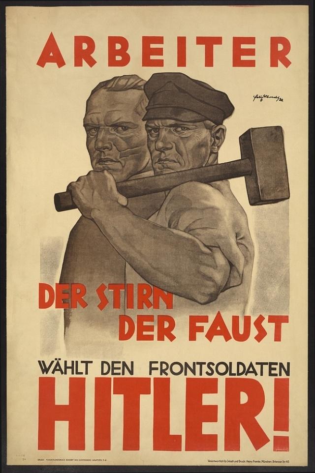 Práce byla vnacistické propagandě úderným heslem.