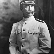 Robert Peary v admirálské uniformě