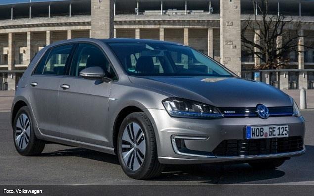 VW Golf je nejprodávanějším modelem v Evropě. Má také e-verzi.