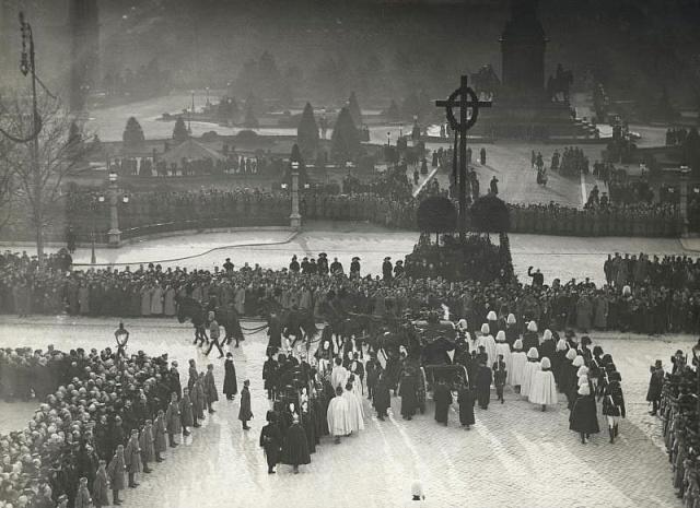 Pohřeb Františka Josefa I. ve Vídni