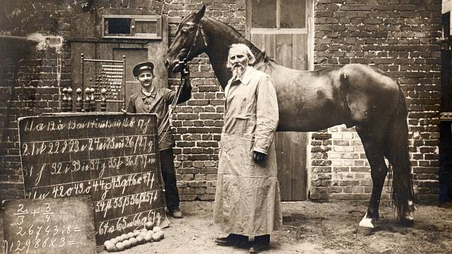 Wilhelm von Osten a jeho kůň Hans