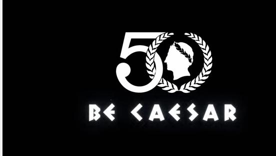 Logo 50. výročí Caesar's Palace