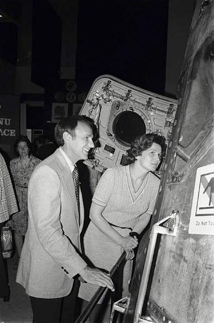 Valentina Tereškovová, první žena ve vesmíru, je majetkem Ruska