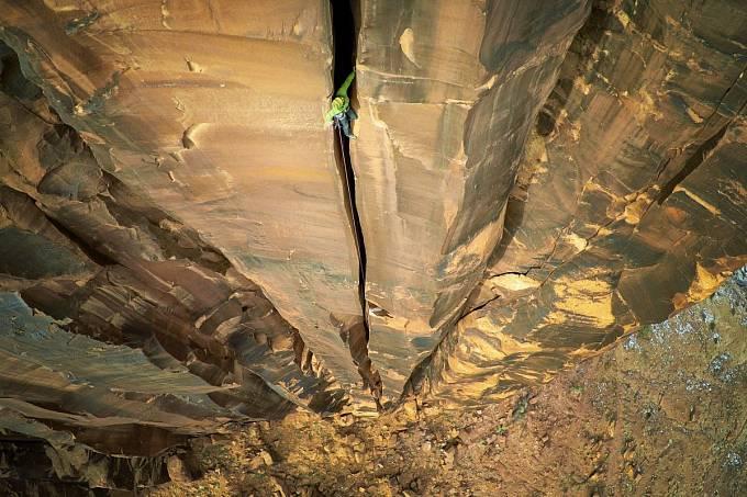 1. místo v kategorii sport: Výstup na Moab Rock v americkém Utahu