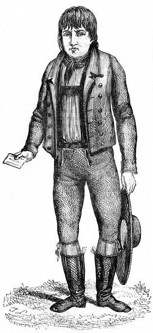 Kašpar Hauser byl dalším vlčím chlapcem, kterého objevili v Norimberku r. 1828