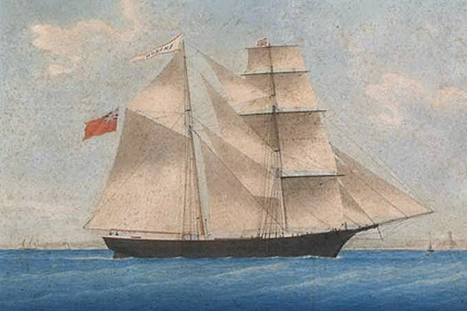 Loď duchů Mary Celeste