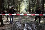 Les u Brna, kde Kalivoda zabil postarší manželský pár