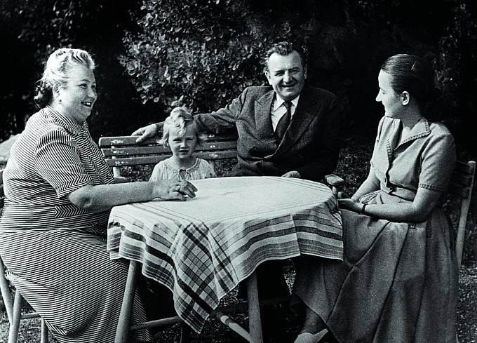 Marta Gottwaldová a Klement Gottwald