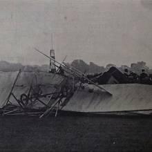 tragická havárie Rollsova upraveného Flyeru