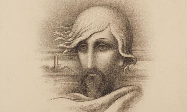 K.H. Mácha - Kresba od Jana Zrzavého