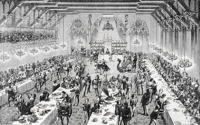 Zatímco šlechta pořádala obrovské bankety, chudí byli o polévce