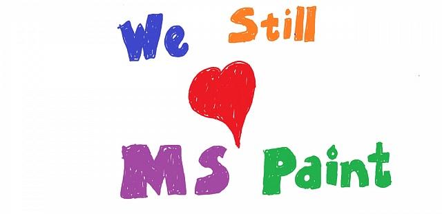 MS Paint je pro řadu lidí nejoblíbenější program ve Windows