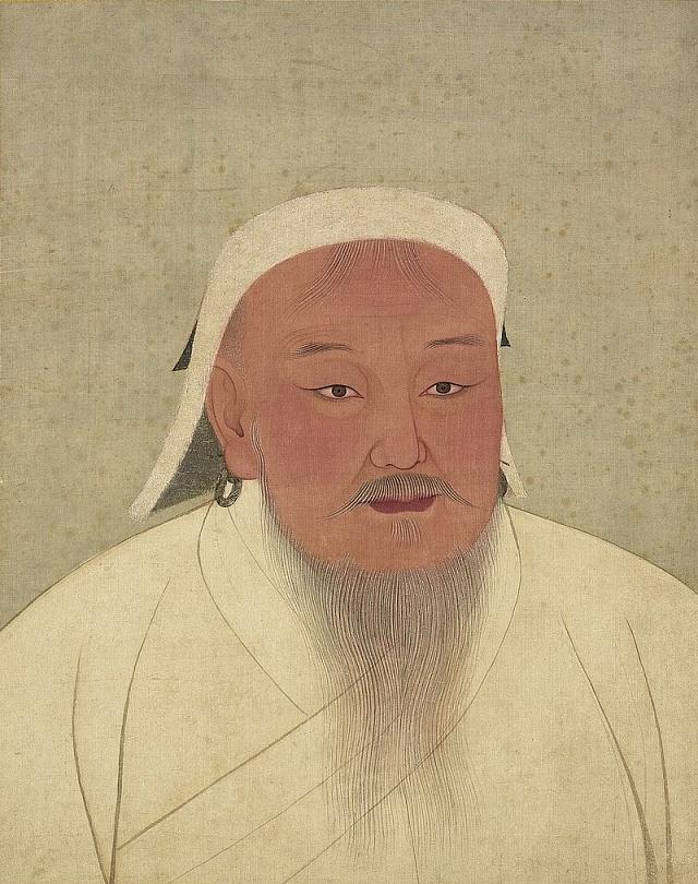 Portrét Čingischána