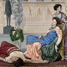 Smrt královny Kleopatry