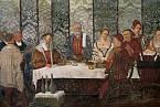 Na šlechtickém stole se objevovali pávi, labutě i ježci.