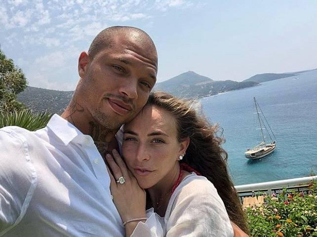 Jeremy Meeks s přítelkyní