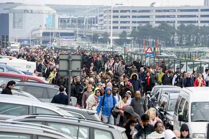 22. 3. 2016, Brusel, Belgie, 34 mrtvých
