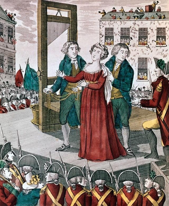 Poprava Marie Antoinetty