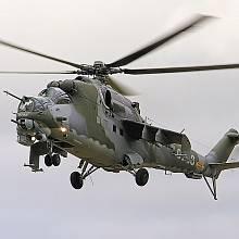 Sovětský vrtulník Mi-24