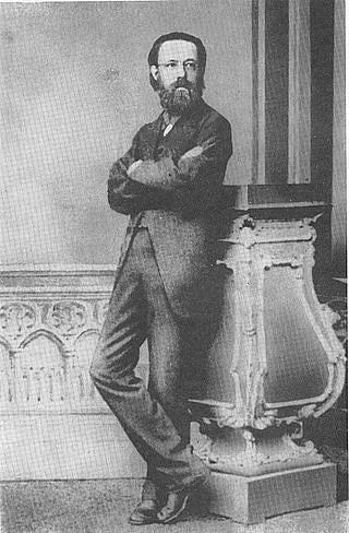 Bedřich Smetana počátkem 60.let 19.století