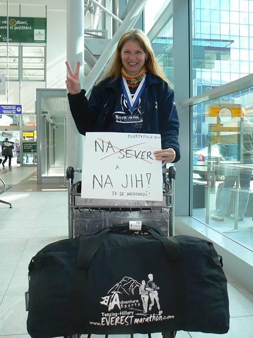 Návrat z nejsevernějšího a nejstudenějšího maratonu na severním pólu