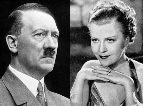 Adolf Hitler a jeho milenka Renata Müllerová